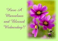 Have A Marvelous And Blessed Wednesday!