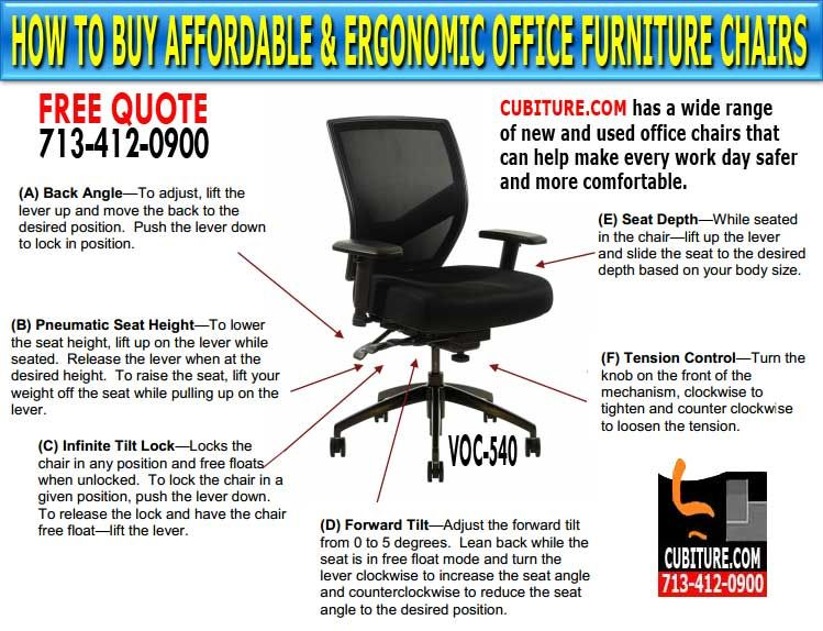 Houston Office Chairs Chair Covers Johannesburg Ergonomic Furniture For Sale In Texas Call Us A Free Quote 713 412 0900 Visit Our Showroom Located On