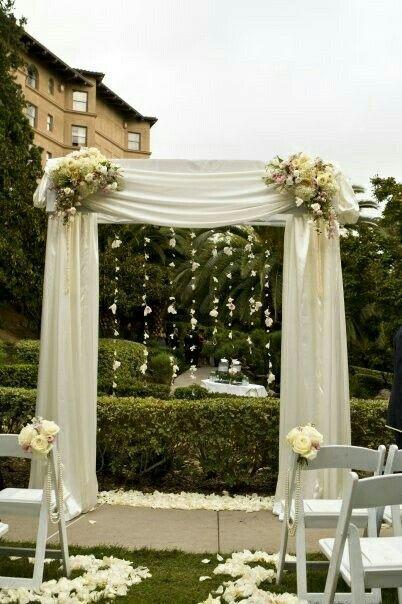 Pin de yanitza berroeta en decorando salones de fiestas for Adornos para boda civil