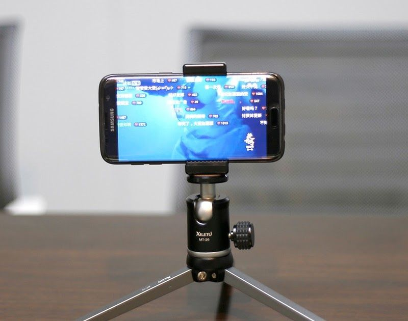 Hot Offer XILETU Aluminum Metal Mini Smartphone Tripod with
