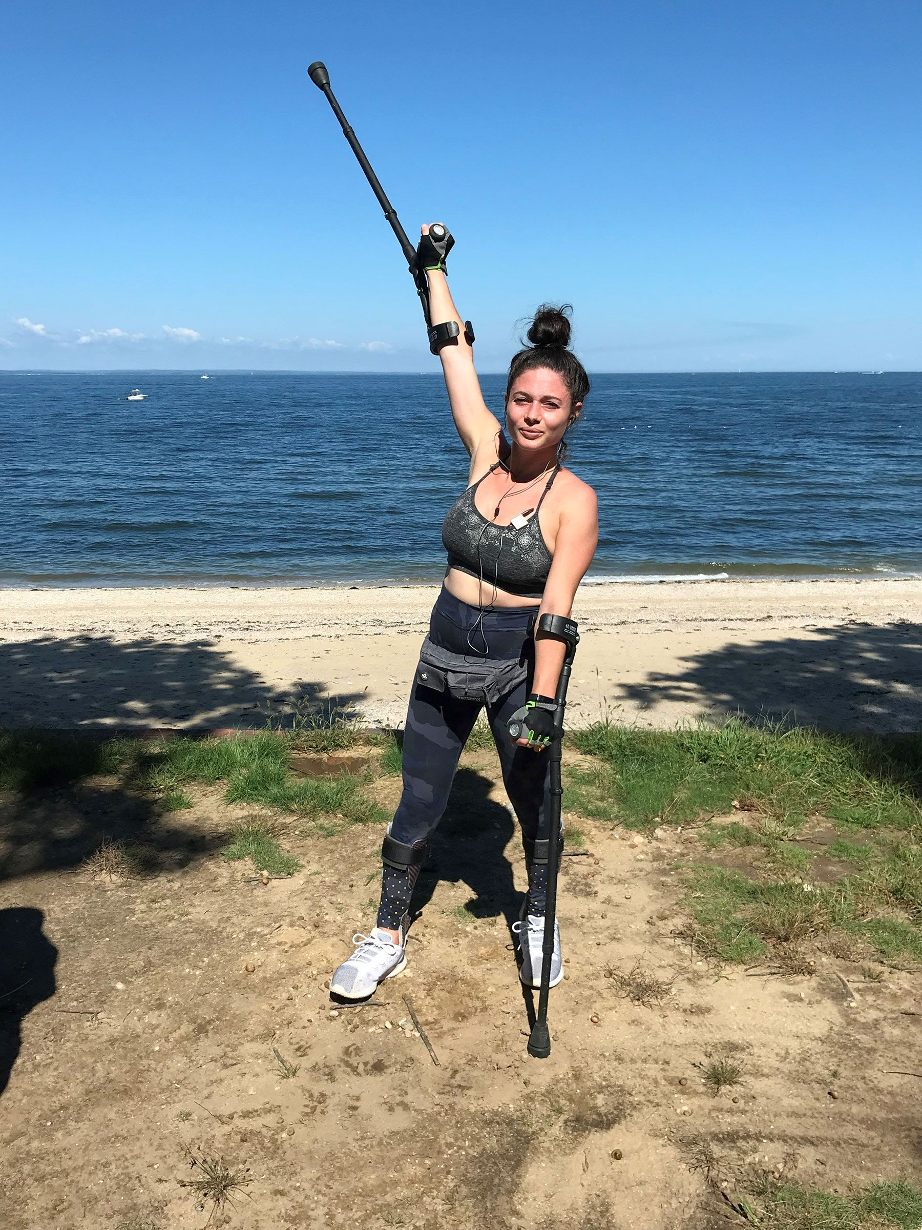 Woman Paralyzed After Falling Off Cliff While Running from