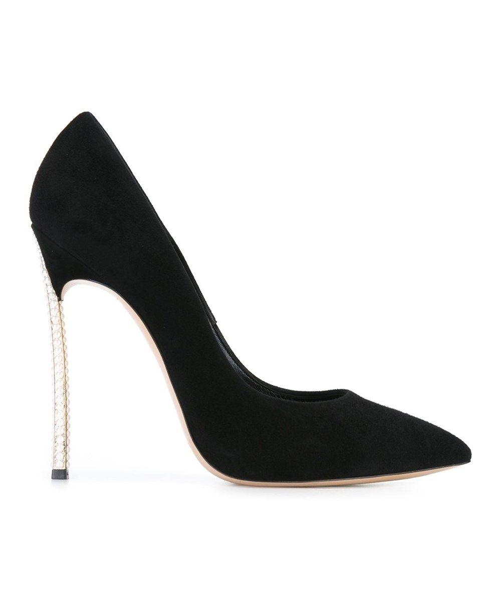 6590bb39762 CASADEI Casadei Women S Black Suede Pumps .  casadei  shoes  pumps   high  heels