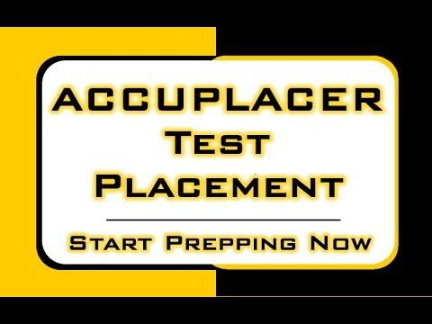 Pin On Accuplacer Computerized Placement Tests Cpt