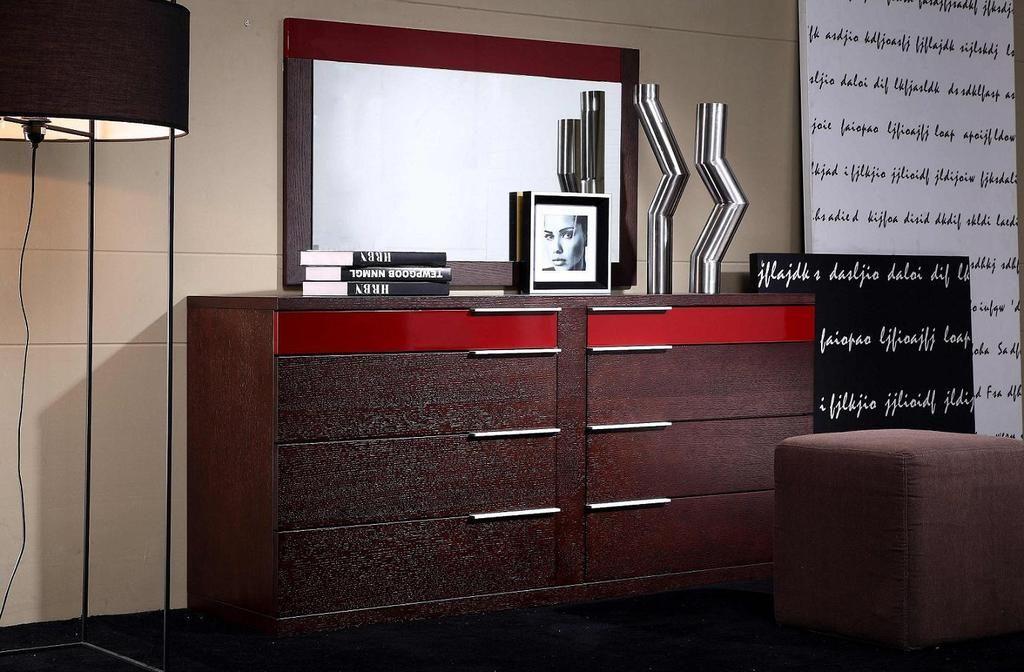 Vig Furniture Modrest Rimini Modern Bedroom Mirror Modern
