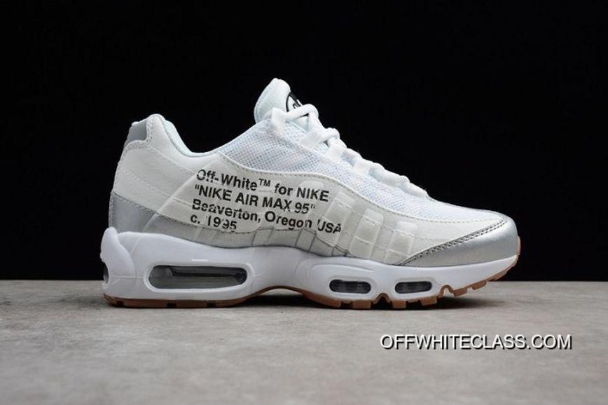 Men Off White X Nike Air Max 95 Running Shoe SKU:125513 256