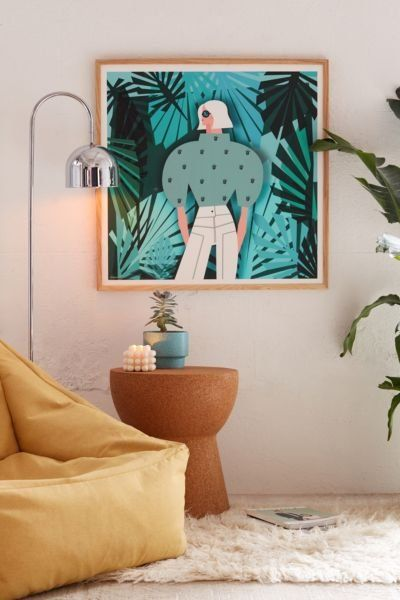 Shop Veronica Grech Tropical Mood Art Print at Urban Outfitters today. We carry all the latest styles, colors and brands for you to choose from right here.