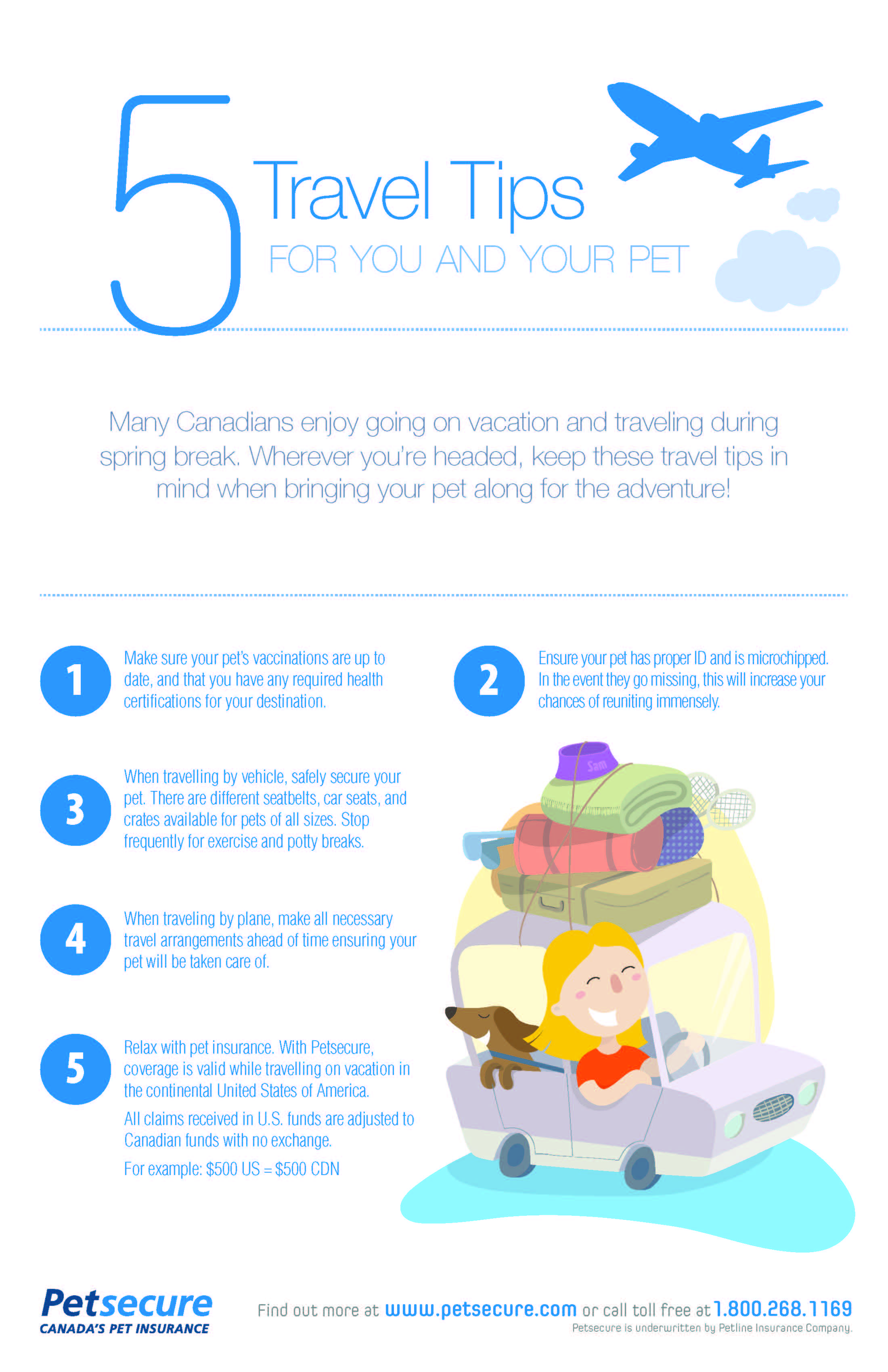 5 Travel Tips For You And Your Pet Pets Dog Insurance Pet Health