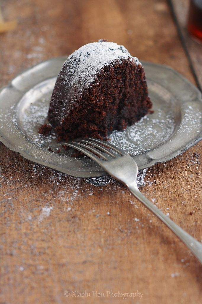 Black Russian Chocolate Kahlua Cake