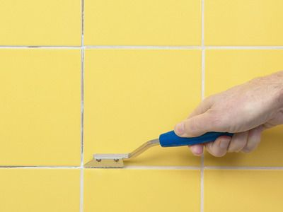 How To Fix Broken Wall Tile And How To Regrout Diy Network Wall - Fix bathroom tile