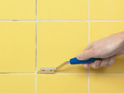 regrout bathroom tile. How To Fix Broken Wall Tile And Regrout Bathroom T