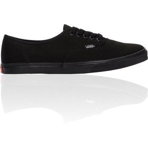 ladies black vans