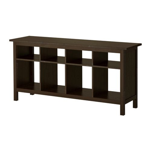 IKEA HEMNES Black-Brown Console table | INSIDE | Ikea sofa ...