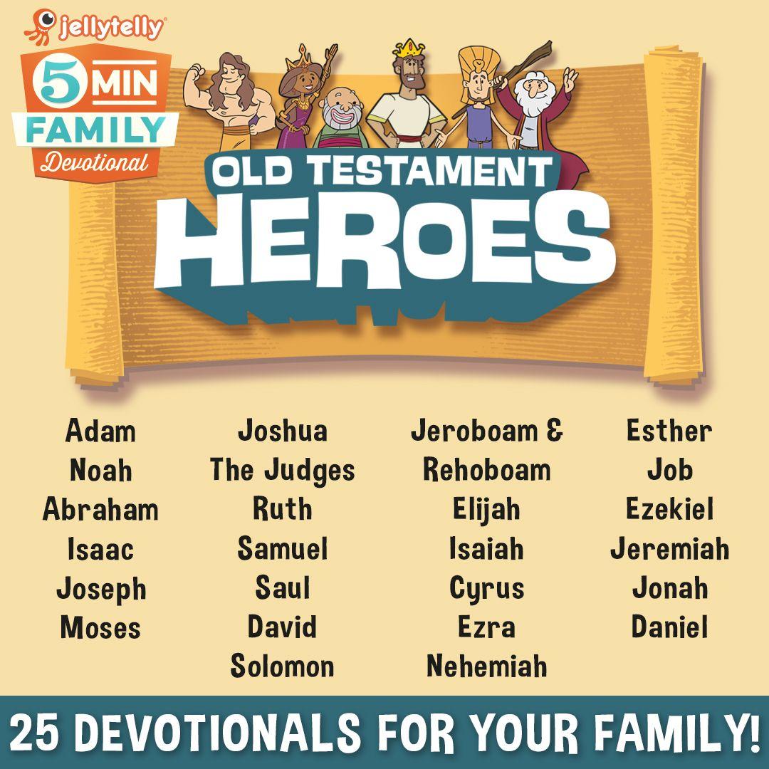 Adam Noah Abraham Moses Ruth Esther Help Your