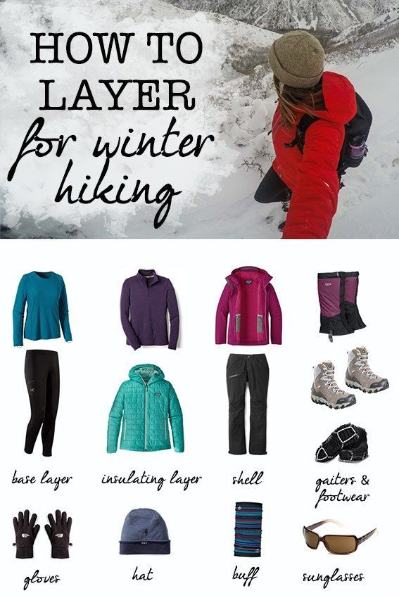 Hiking Clothes & Cold Weather Layering Basics Interested in winter hiking? Learn what clothes to wear for cold weather hiking and how to layer appropriately for snow and chilly temps.Interested in winter hiking? Learn what clothes to wear for cold weather hiking and how to layer appropriately for snow and chilly temps.
