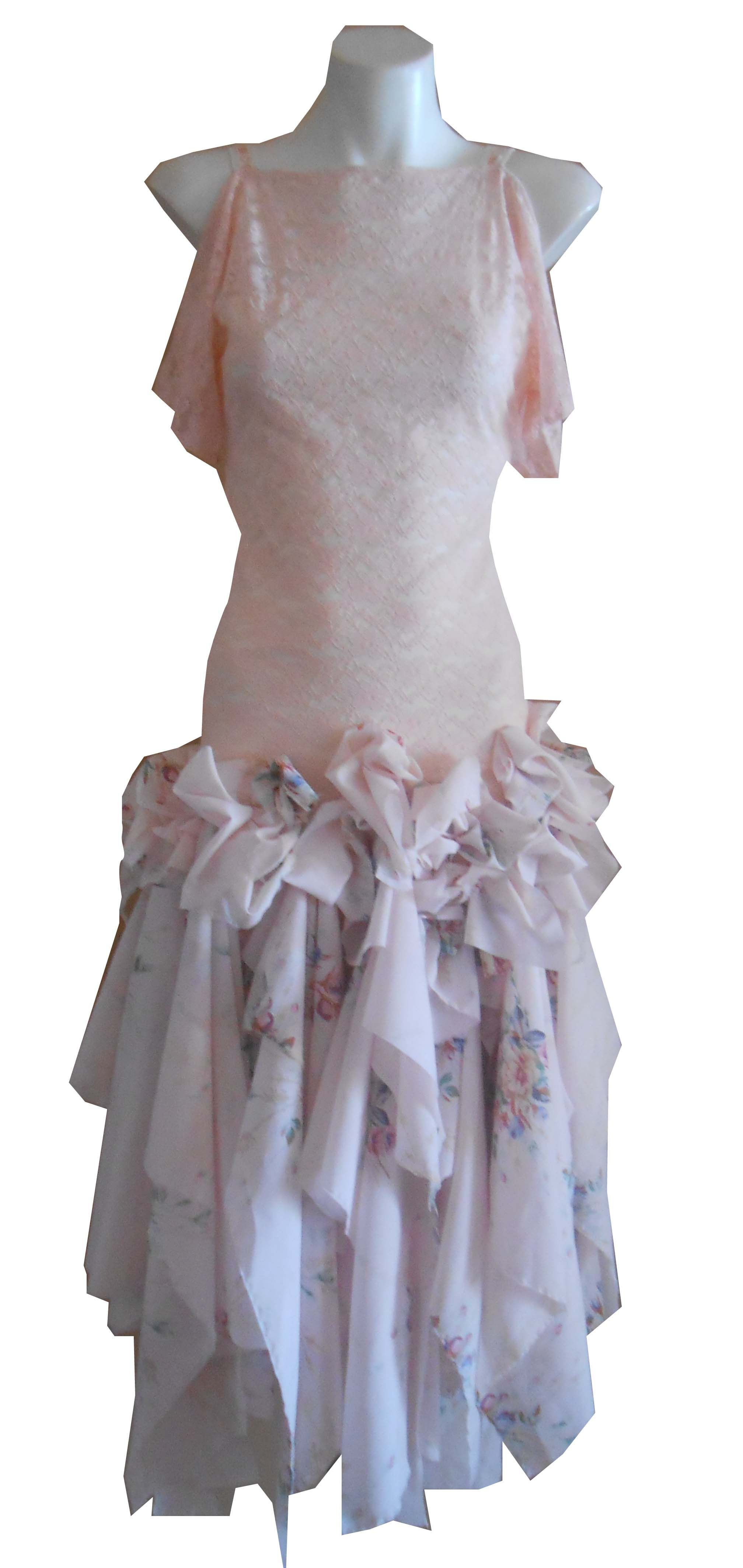 HARAH DESIGNS VINTAGE BLOSSOM BABE DRESS