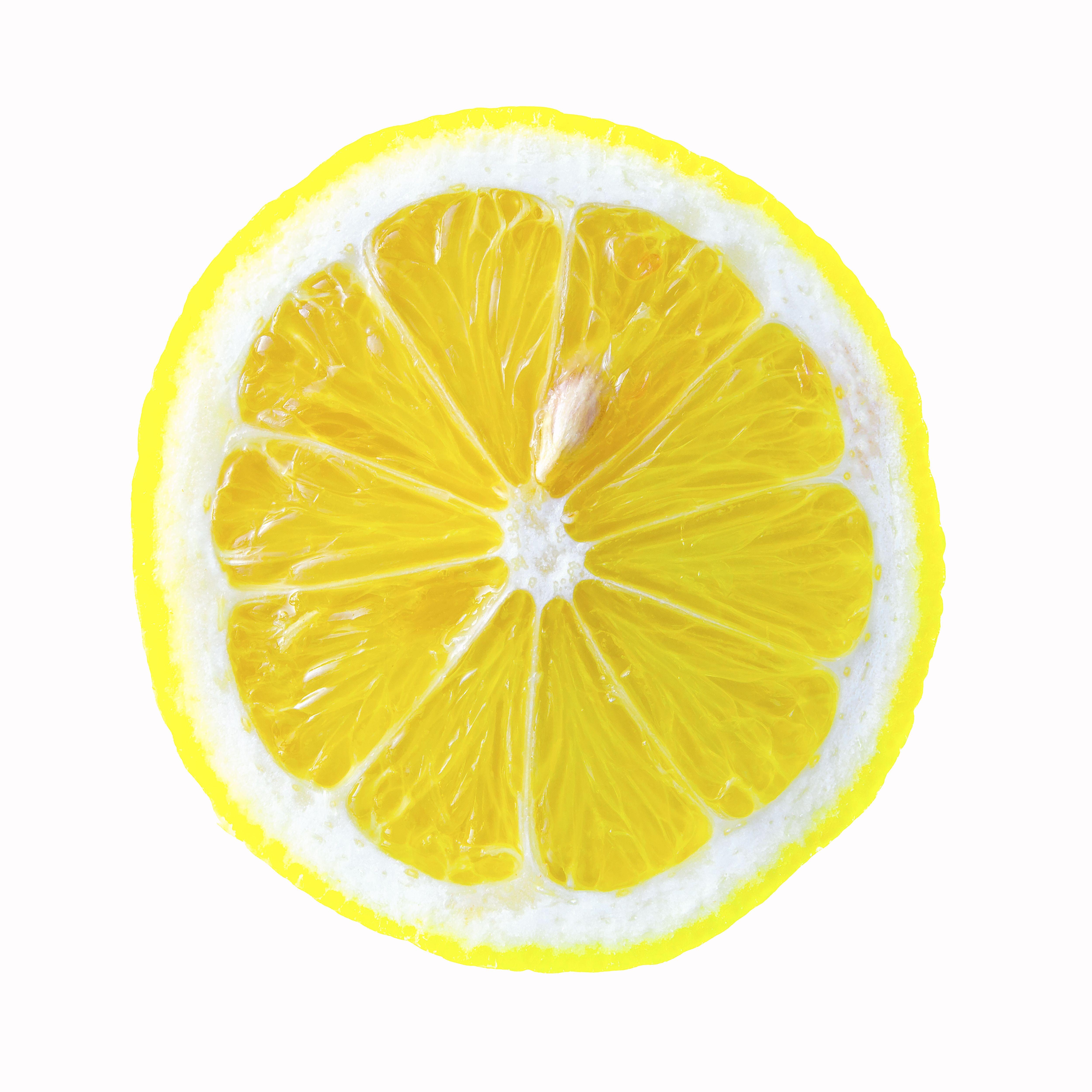 Medium Limited Edition Color Photograph Silver Hal Gelatin Lemon Lemon Art Fruit Can Dogs Eat Oranges