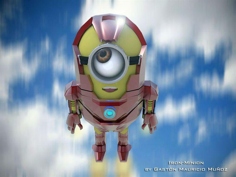 'Los minions' como Iron Man, Hulk y otros personajes de la