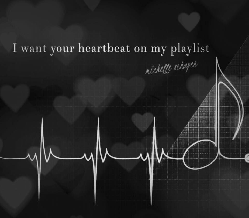 I want your heartbeat on my playlist  | quotes | Romantic