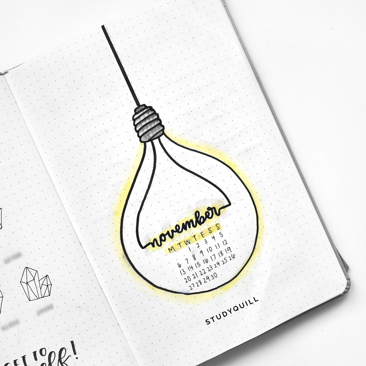 Studyquill ucnovember bullet journal setup see my plan with