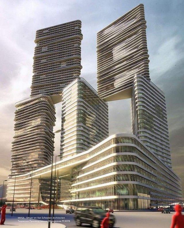 M-City project by MVSA Architects