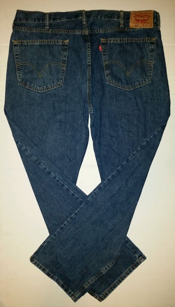 Mens Levi's 505 Jeans Size 40 X 30 Straight Fit | Fit, Levis and Blue