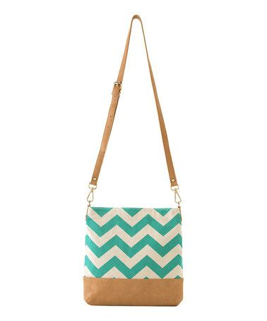 Another great find on zulily! Aqua Quinn Crossbody Bag