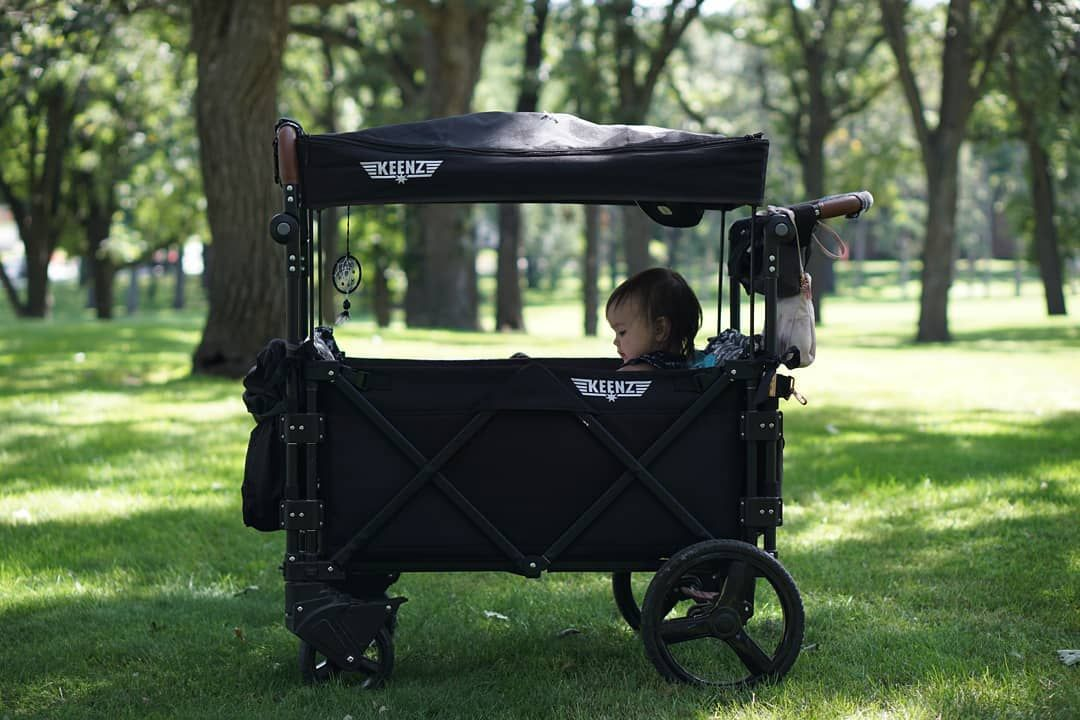 The perfect stroller wagon for your summer park visits is