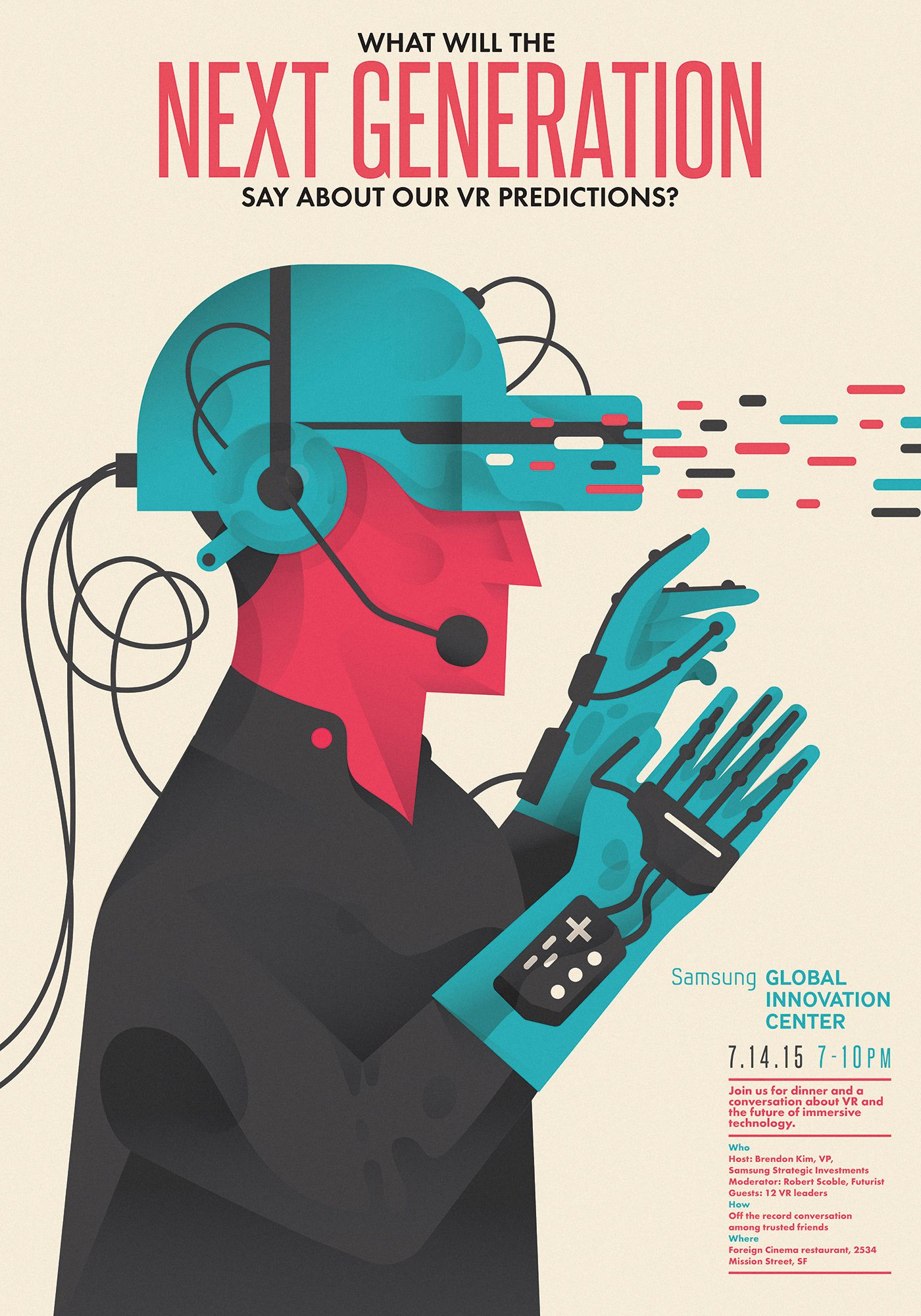 VR Next Generation on Behance   Poster Design   Virtual ...