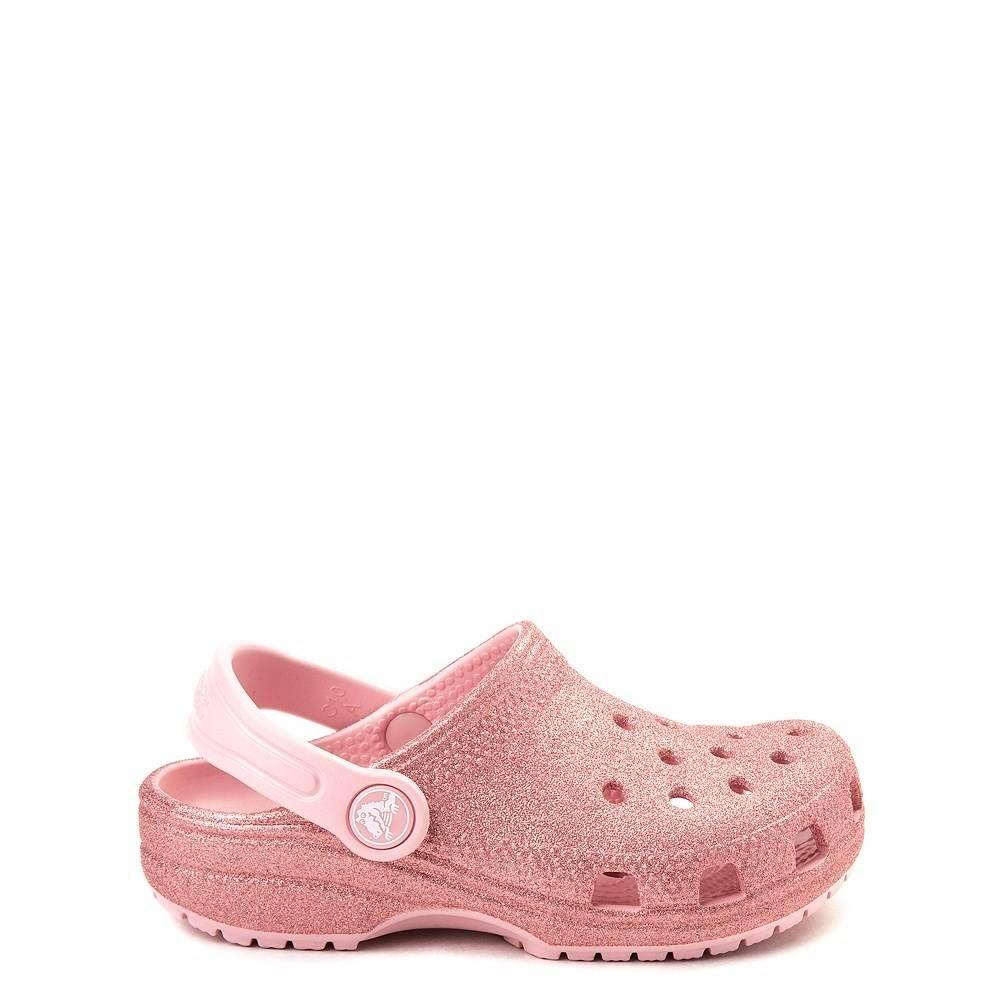 Crocs Classic Glitter Clog - Baby