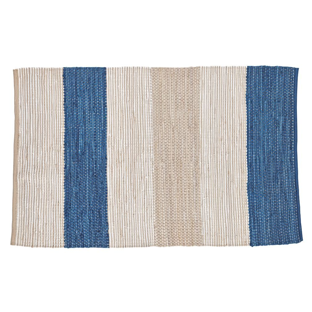 Bandwidth Rug The Bold Pattern On This 100 Cotton Striped Is Sending Out A Signal Loud And Clear That For Your Home