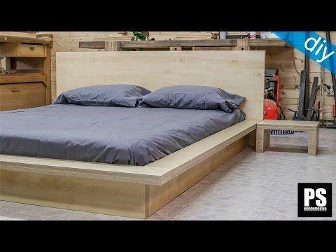Cómo hacer una cama Tatami en contrachapado | DIY Home & Woodwork ...