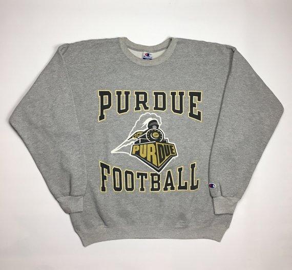 1990s Vintage Purdue University Champion Sweater 90s