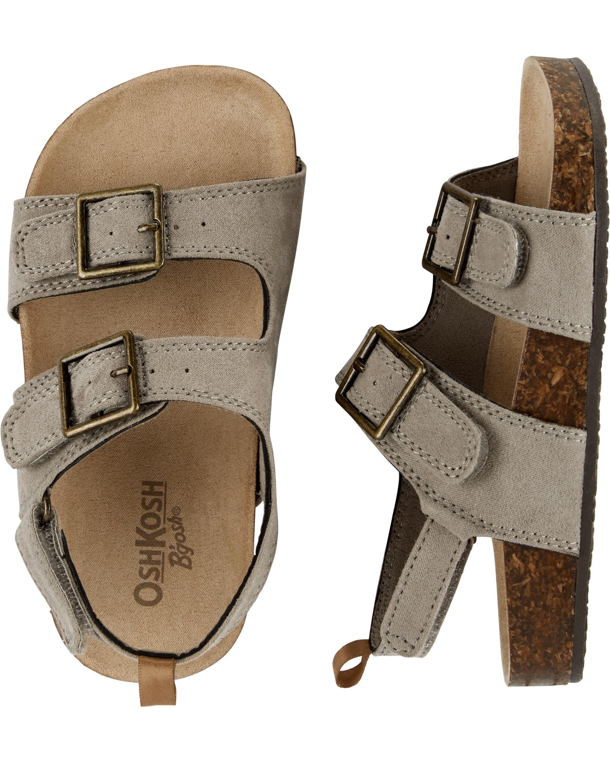 baby boy cork sandals