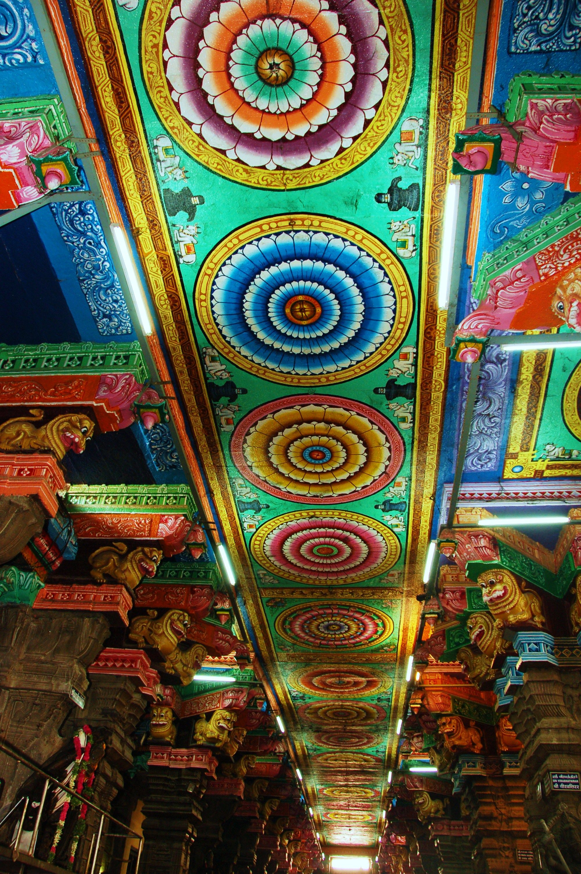 meenakshi temple in China | Color-a-go-go in 2019 | Hindu ...