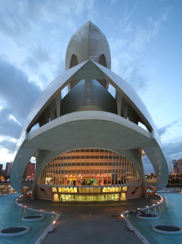 Ciudad de las Artes y de las Ciencias Palau de les Arts Reina Sofía
