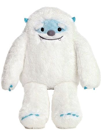 Yurik the Yeti Plush Stuffed Animal at PLASTICLAND