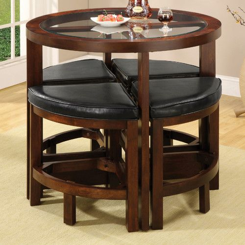 Jinie 5 Piece Counter Height Dining Set With Images Pub Table