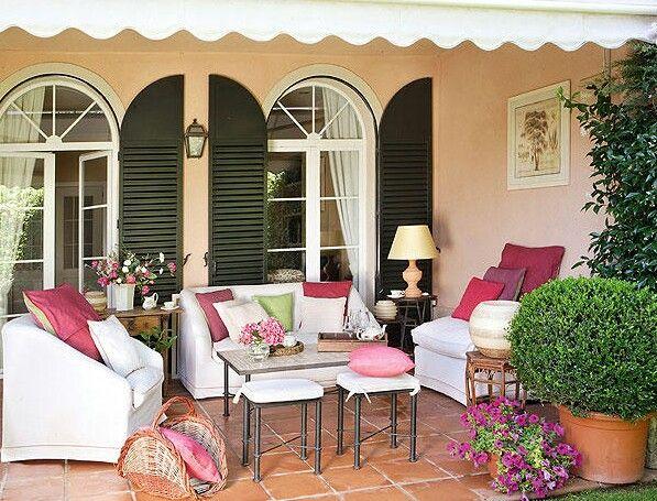 Revista el mueble terraza porche pinterest terrazas - Decorar porche pequeno ...