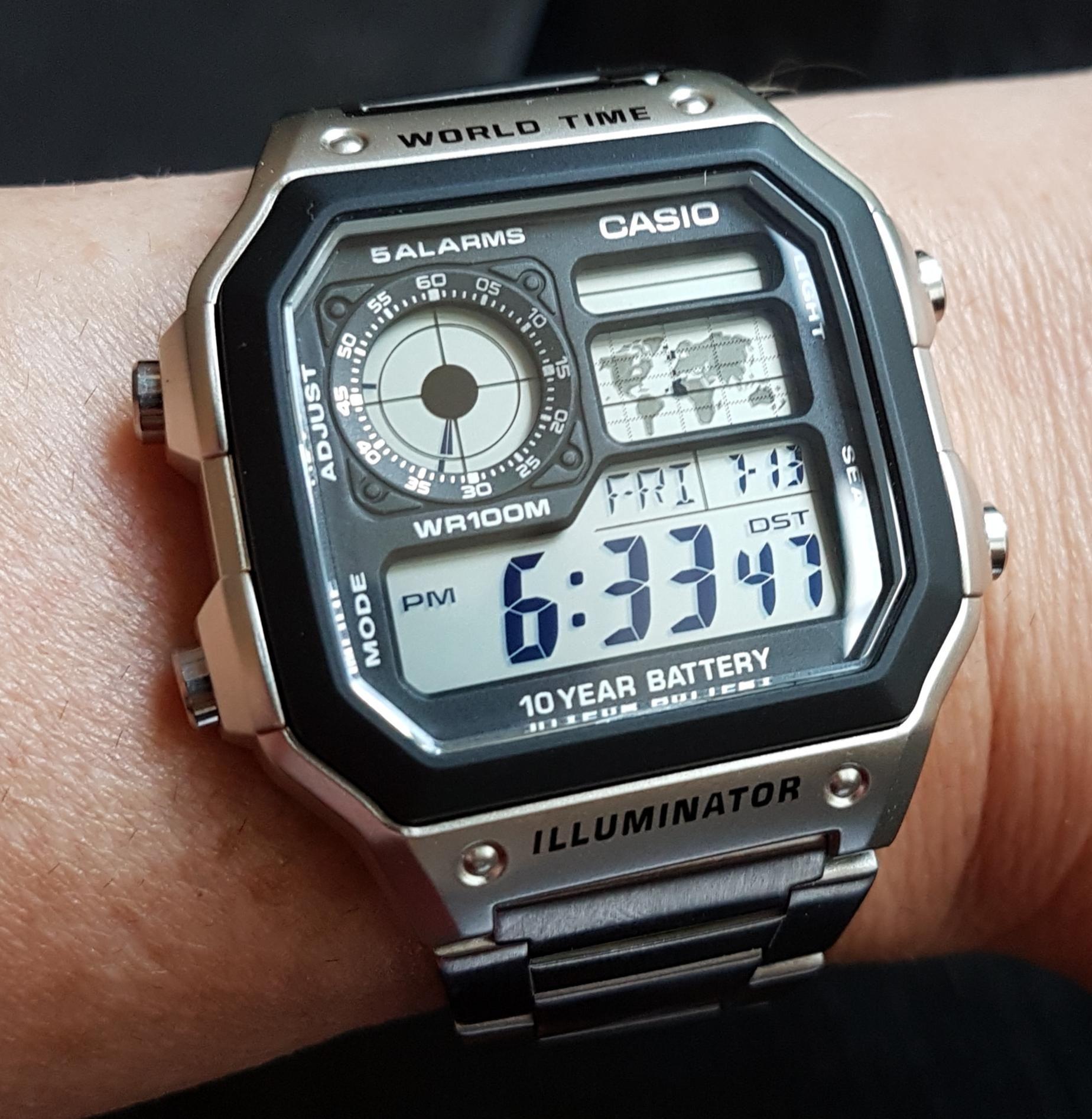 dff931bc2958  Casio  AE-1200WH Casio Royale Reloj Casio