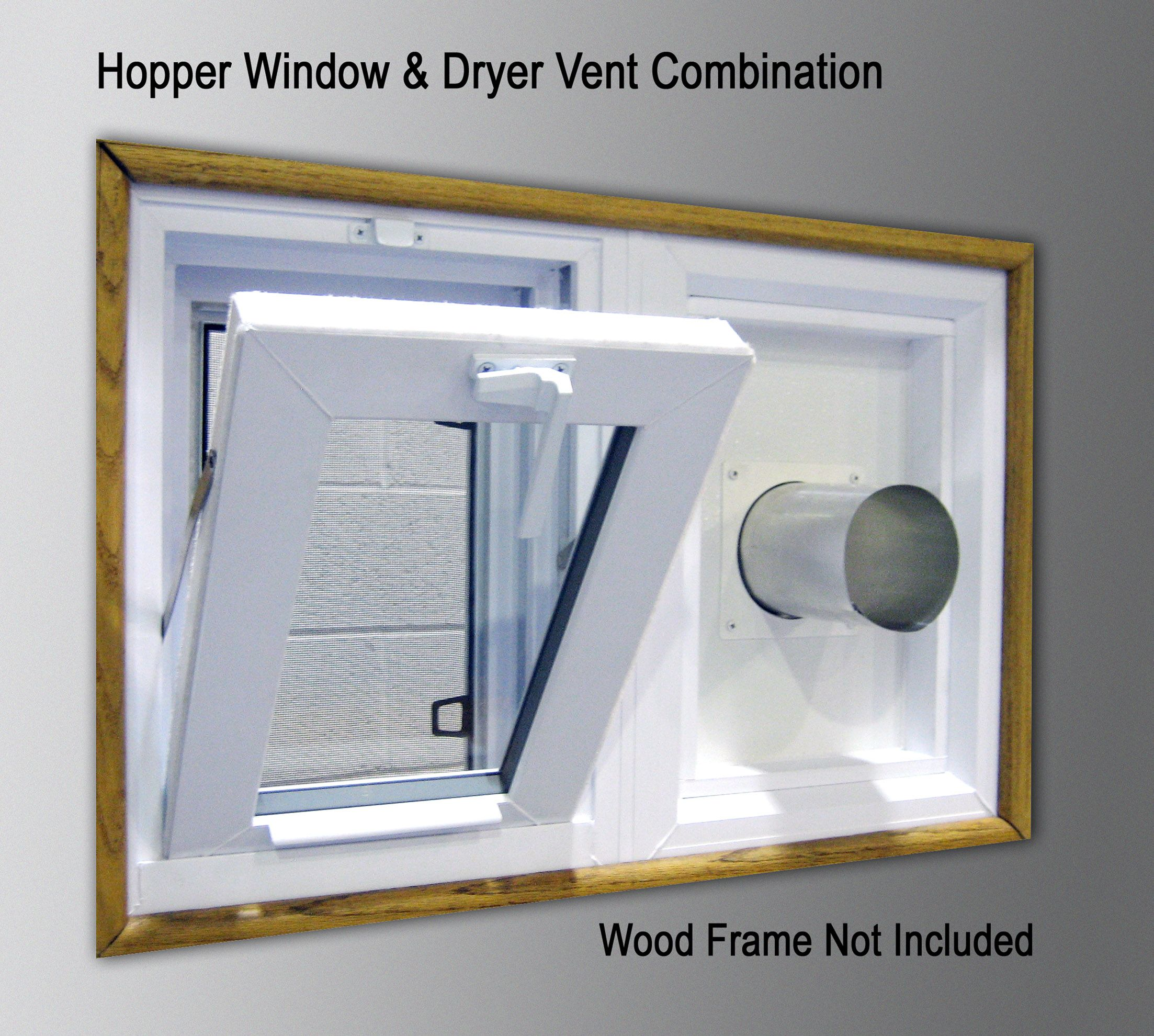 This Product Is Shipped Free In Continental Usa Weathermaster Combination Hopper Dryer Vent Windows Are Strong Fully Embled And Secure Made