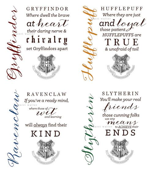 Ravenclaw Harry Potter Sorting Hat Quotes Collection 8 5 X 11 Print Harry Potter Sorting Harry Potter Sorting Hat Hat Quotes