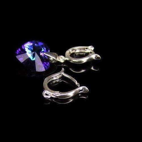 Sterling Silver HOOP Earwires Silver 925 2 PAIRS by BraceletsWorld, $17.79