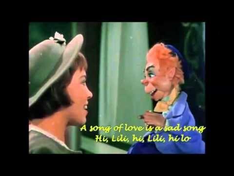 Hi Lili Hi Lo Leslie Caron Lyrics On Youtube Leslie