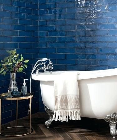 Navy Blue Tiles Bathroom Blue Tiles Wall Floor Tiles Tiles Navy Blue Bathroom Ti Bathroom Blue Floor Blue Bathroom Tile Blue Tile Wall Blue Kitchen Tiles