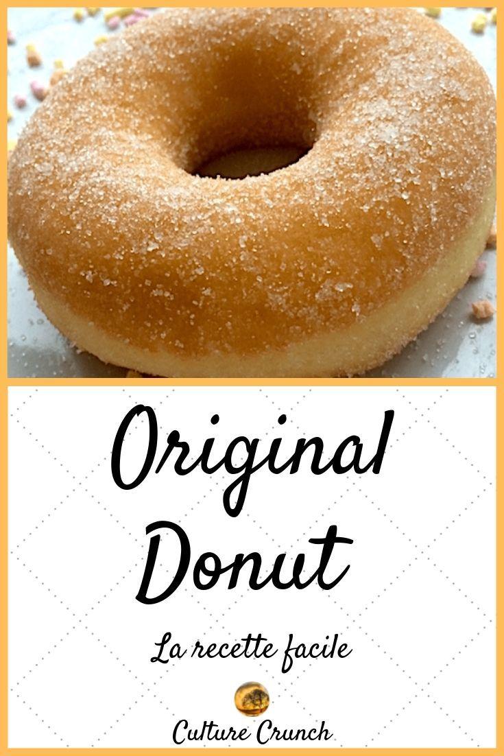 DONUTS ORIGINAL : la recette facile