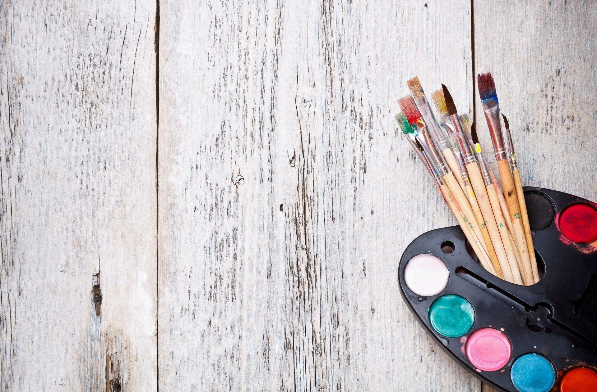 Картинки для презентации краски