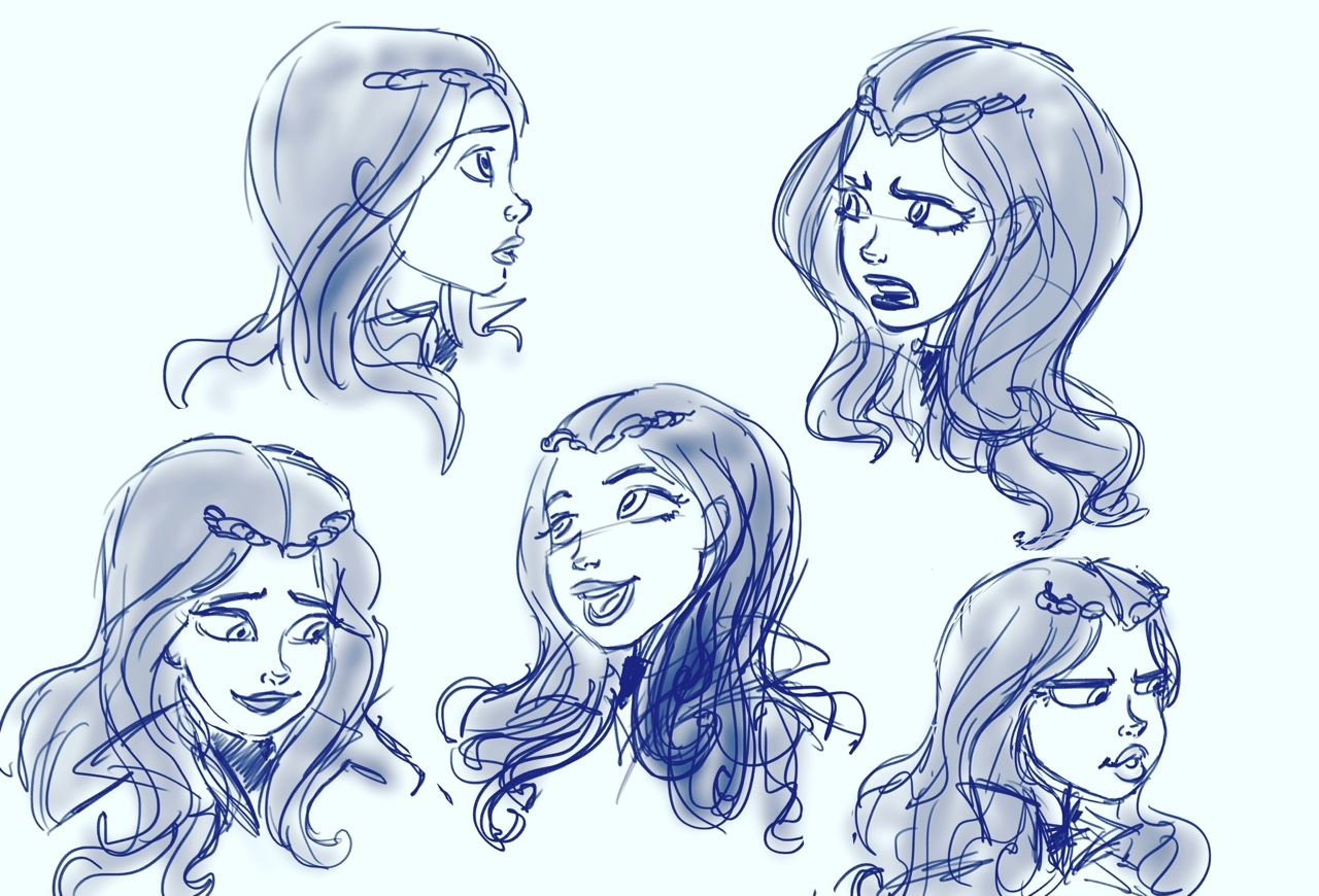 I Came Across Some Expression Sheets I Did For Our