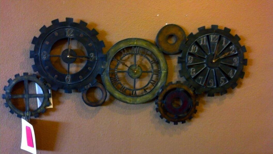 If Your Into Steam Punk This Is A Great Clock For You! Www.morrisfurniture