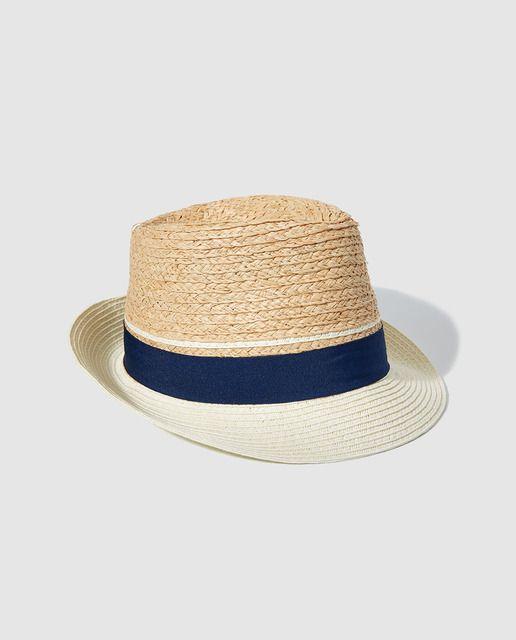 d7747debb203c Sombrero borsalino de niño Bass 10 en natural
