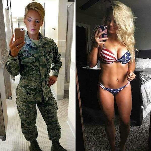 Nude female military tumblr